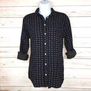 Madewell Ex-Boyfriend Floral Button Down Shirt